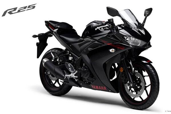 Cặp đôi Yamaha R25 và Tricity có phiên bản ABS mới