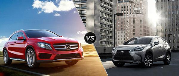 Đọ dáng crossover hạng sang Lexus NX 200T và Mercedes-Benz GLA 250